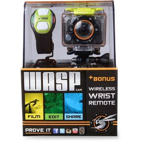 WASPcam 9900 Action Sports Camera - 9900DR