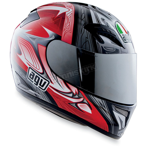 AGV T-2 Red Multi Helmet - 01014314