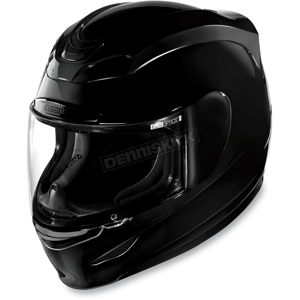 Icon Black Gloss Airmada Helmet - 0101-5927