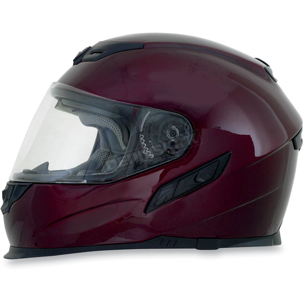 AFX Wine Red FX120 Helmet - 0101-6423