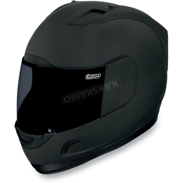 Icon Black Alliance Dark Helmet - 0101-6648