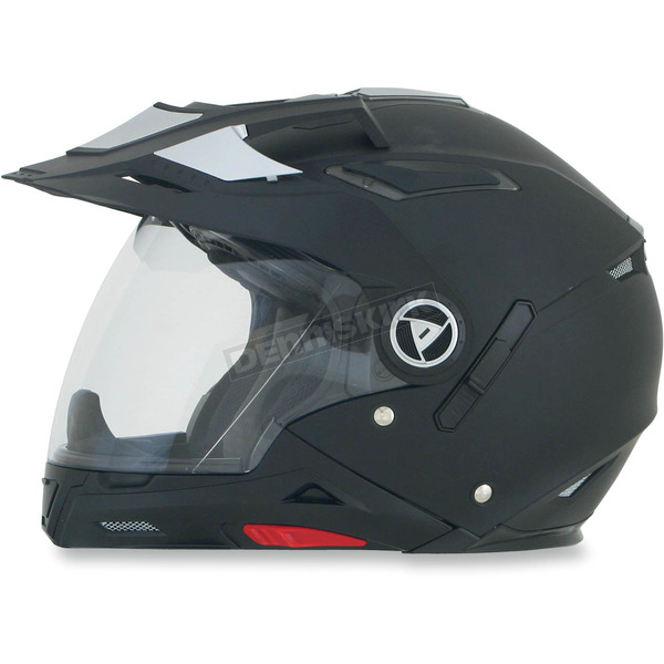 AFX Flat Black FX-55 7-in-1 Helmet - 0104-1234