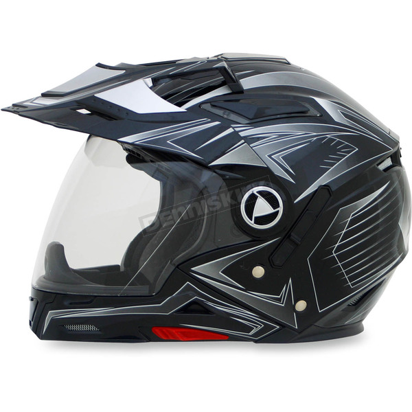 AFX Gloss Black Multi FX-55 7-in-1 Helmet - 0104-1585