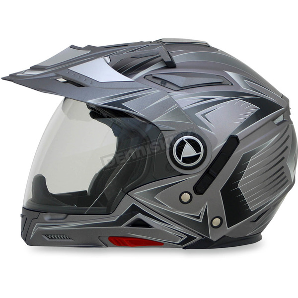 AFX Frost Gray Multi FX-55 7-in-1 Helmet - 0104-1588