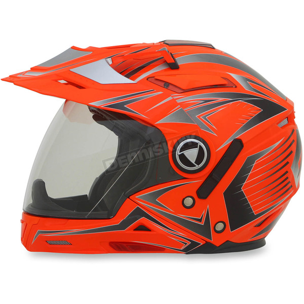 AFX Safety Orange Multi FX-55 7-in-1 Helmet - 0104-1617