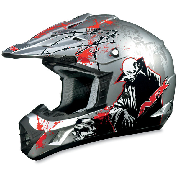 AFX Silver Special Edition FX-17 Helmet - 01102263