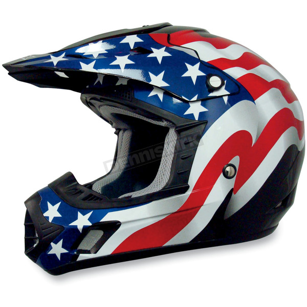 AFX Black Flag FX-17 Helmet - 0110-2370