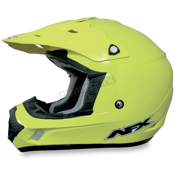 AFX FX-17Y Hi-Vis Yellow Youth Helmet - 0111-0784