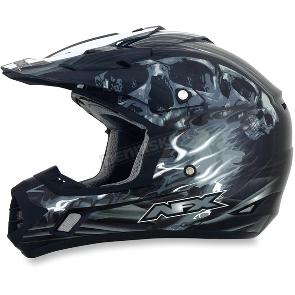 AFX Black Multi FX-17 Inferno Helmet - 0110-3548