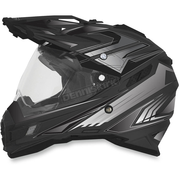 AFX Flat Black Multi FX-41DS Helmet - 0110-3913