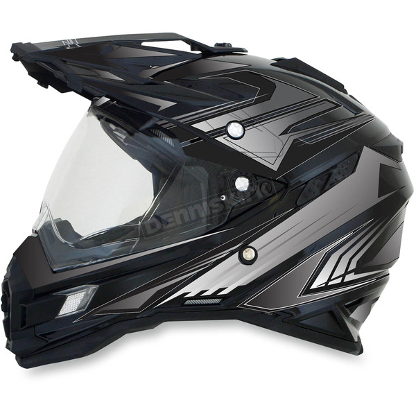 AFX Gloss Black Multi FX-41DS Helmet - 0110-3921