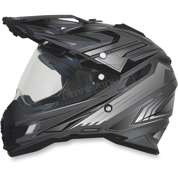 AFX Frost Gray Multi FX-41DS Helmet - 0110-3927