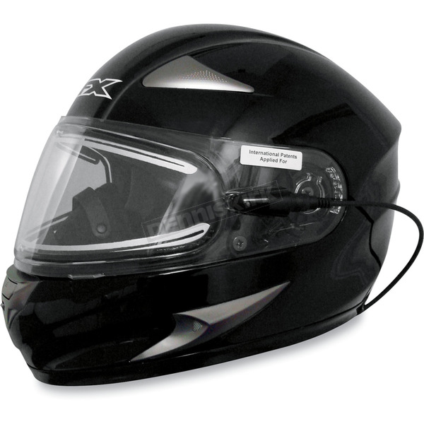 AFX FX-90S Snow Helmet w/Electric Dual-Lens Snow Shield - 0121-0424
