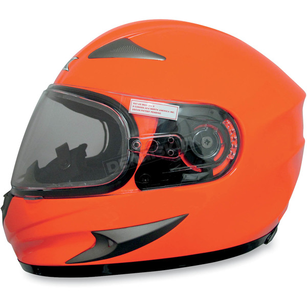 AFX Safety Orange FX-90S Snow Helmet - 0121-0468