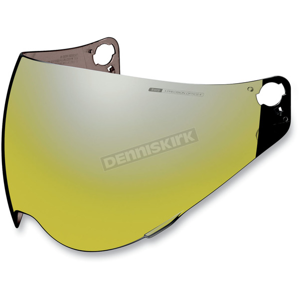 Icon RST Gold Fog Free Shield for Icon Variant Helmets - 0130-0376