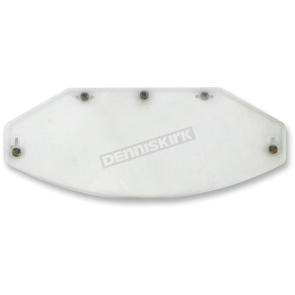 AFX Clear Five-Snap Flat Shield - 0131-0072