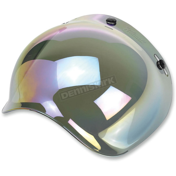 Biltwell Rainbow 3-Snap Bubble Shield - BV-RNB-00-SD