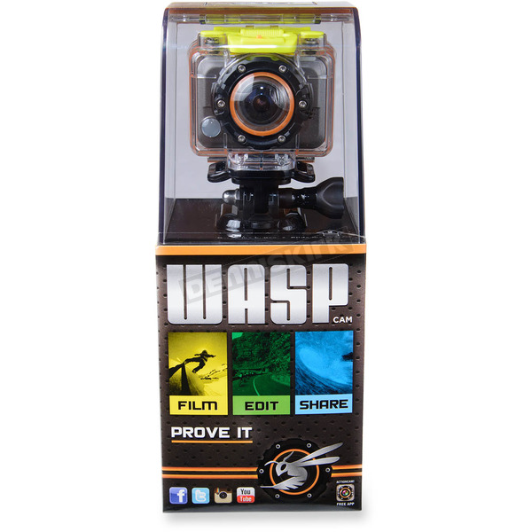 WASPcam 9901 Action Sports Camera - 9901DR