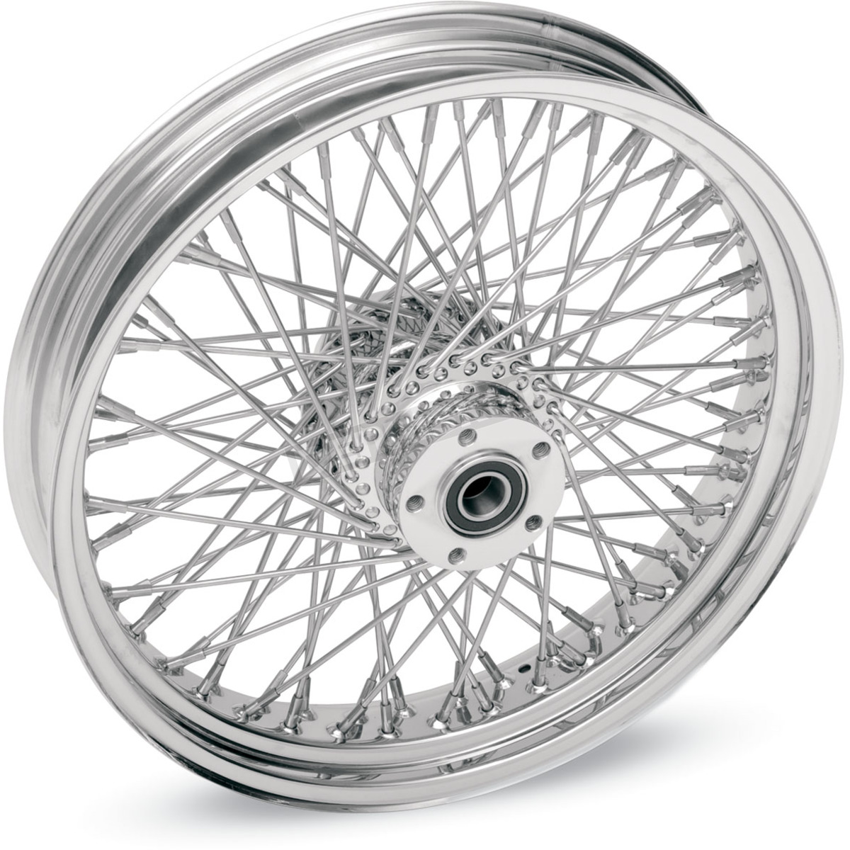 Drag Specialties Chrome Rear 17 x 6 80-Spoke Laced Wheel Assembly ...