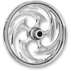 Front 23 in. x 3.75 in. Savage Chrome One-Piece Forged Aluminum Wheel - 23375-9031-85C