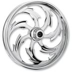Front Chrome 17 x 3.5 Assault One-Piece Forged Wheel - 1735-K9331-95C
