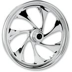 Front 16 in. x 3.5 in. Drifter One-Piece Forged Aluminum Chrome Wheel - 16350-9917-101C