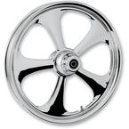 Front 21 in. x 2.15 in. Nitro One-Piece Forged Aluminum Chrome Wheel - 21215-9927-92C
