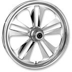23 in. x 3.75 in. Front Chrome Crank One-Piece Forged Aluminum Wheel for Models w/ ABS (single disc) - 23750-9032A-107
