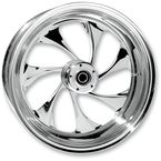 Rear 16 in. x 3.5 in. Drifter One-Piece Forged Aluminum Chrome Wheel - 16350-9950-101C