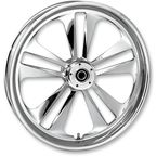 16 in. x 3.5 in. Rear Chrome Crank One-Piece Forged Aluminum Wheel - 16350-9170-107C