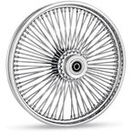 Black 18 x 3.5 Fat Daddy 50-Spoke Radially Laced Wheel for Dual Disc - 02030351