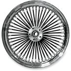 Black 21 x 2.15 Fat Daddy 50-Spoke Radially Laced Wheel for Single Disc - 02030394