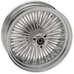 Rear 18x5.50 60 Spoke Laced Wheel Assembly - 0204-0505