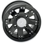 12 in. Black Buck Shot Wheel - 158PU127110GB4