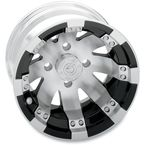 Machined/Black Buck Shot 12x7 Wheel - 158128115BW4