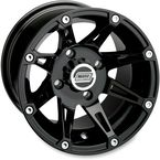 Gloss Black 387X 12x7 Wheel - 0230-0448