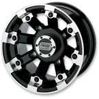 Black 393X Cast Aluminum ATV/UTV Wheel - 0230-0517