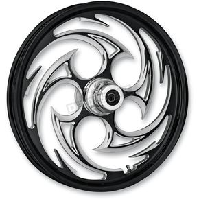 RC Components Front Black 21 x 3.5 Savage Eclipse Forged Wheel - 21350-9008-85E