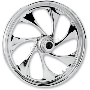 RC Components Front 23 in. x 3.75 in. Drifter One-Piece Forged Aluminum Chrome Wheel - 23375-9032-101C