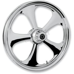 RC Components Front 18 in. x 3.5 in. Nitro One-Piece Forged Aluminum Chrome Wheel - 18350-9916-92C