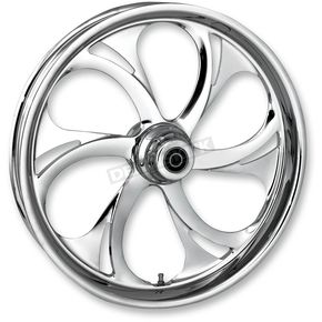 RC Components 23 in. x 3.75 in. Front Chrome Recoil One-Piece Forged Aluminum Wheel for Models w/o ABS (single disc) - 23750-9032-105C