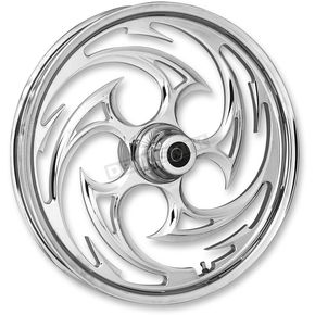 RC Components Chrome 16 x 5.50 Savage Rear Wheel (Non-ABS) - 16550-9051-85C