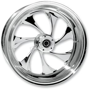 RC Components Rear 16 in. x 3.5 in. Drifter One-Piece Forged Aluminum Chrome Wheel - 16350-9970-101C