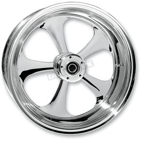 RC Components Rear 18 in. x 4.25 in. Nitro One-Piece Forged Aluminum Chrome Wheel For Models with ABS - 18425-9974-92C
