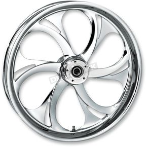 RC Components 17 in. x 6.25 in. Rear Chrome Recoil One-Piece Forged Aluminum Wheel - 17625-9210A105C