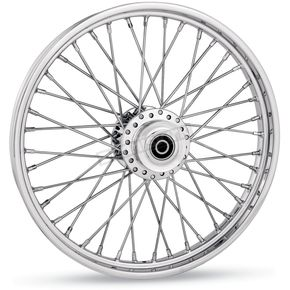 American Wire Wheel 40-Spoke Cross Laced Wheel - Single Disc -