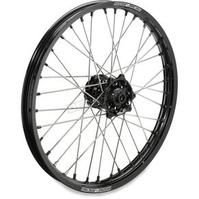 Moose Black 1.60 x 21 XCR Wheel - 0203-0565