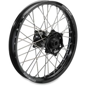 Moose Black 2.15 x 19 XCR Wheel - 0204-0436