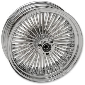 Drag Specialties Rear 16x5.50 60 Spoke Laced Wheel Assembly - 0204-0507