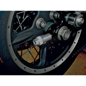 Joker Machine Clear Anodized Axle Adjusters - 10-800S